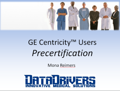 Watch Now! GE Centricity™ Users: Precertification