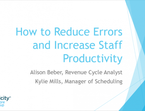 How to Reduce Errors and Increase Staff Productivity